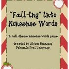 This is a great Fall center or independent activity that can be used to help reinforce decoding and reading fluency skills.  Pair with a timer and ...
