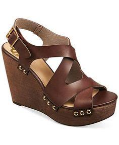 Fergalicious Lauren Slingback Platform Wedge Sandals - Wedges - Shoes - Macy's