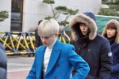 Road Boyz arriving at Music Bank by KpopMap #musicbank, #kpopmap, #kpop, #roadboyz