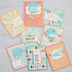 Stampin' Dolce: Spring Retreat registration is open - check out these projects using the Cupcakes & Carousel suite!