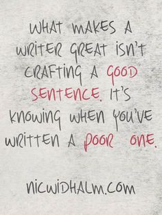 What makes a writer great?