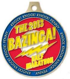 bazinga half marathon