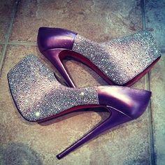 sparkley high heels - Google Search