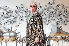 Back to the Future's stainless steel DeLorean led to artist Judy Darragh's latest work. Pulled Back Hairstyles, Car Museum, Make Art, Installation Art, Design Crafts, Amazing Art, Sculpting, Steel, Gallery