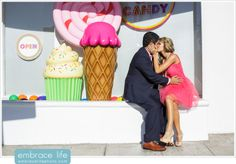 Candy Store Engagement Session :: Embrace Life Photography