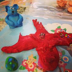 One of the dragon monsters made last week in clay class. And a very scared bear looking over its shoulder!!! #homeschool #artlisstudios #artlife #miniartist #kids #kidsart #kidsartclass #artclass #artlesson #artclasses #clay #clayart #class #lesson #colour #monsters #instaart #shoplocal #gcbusiness #goldcoast #goldcoastart #goldcoastlocal #goldcoastartclass #goldcoastbusiness #currumbin #dragon #paint #studio