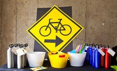 bike themed party