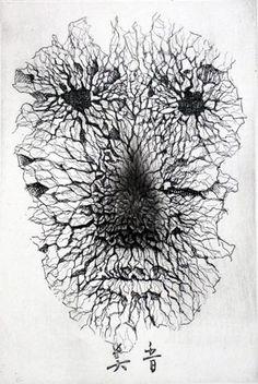 100 Faces by Tomiyuki Sakuta: Juxtapoz-TokiyumiSakuta032.jpg
