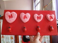 Mother's Day Theme, Diy And Crafts, Crafts For Kids, Family Presents, Mamas And Papas, Pre School, Mother Gifts, Fathers Day, Homemade