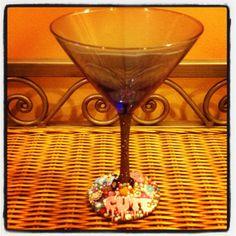 Cute Concoctions Martini Glass by kraftymckrafterson on Etsy, $26.50