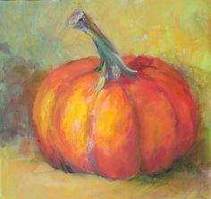 Harvest Pumpkin by Amy Whitehouse amywhitehousepaintings.blogspot.com