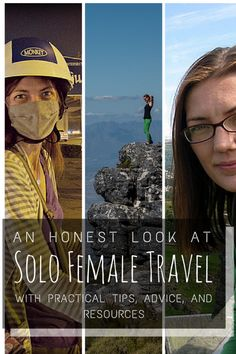 An honest look at the Solo Female Travel question, with the resources, tips, and advice you need for your solo travels. http://alittleadrift.com/2013/06/solo-female-travel-safety/