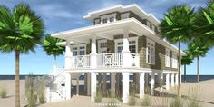 The Landlubber is a 3 bedroom beach house plan. The ultimate in oceanfront entertaining. 1581 square feet of living. Designed for a narrow lot, with a classic Cape Cod exterior. Beach Cottage Style, Beach Cottage Decor, Coastal Cottage, Coastal Homes, Cottage Ideas, Coastal Farmhouse, Modern Coastal, Coastal Style, Modern Contemporary