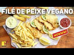 FILÉ DE PEIXE VEGANO | FISH 'N' CHIPS | COMIDA DE RUA | VIEWGANAS - YouTube