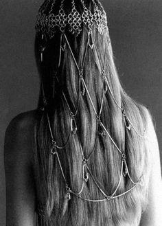 Amazing 60's hair piece.