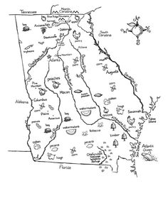Suwanee and Ocmulgee are where I've spent the most time