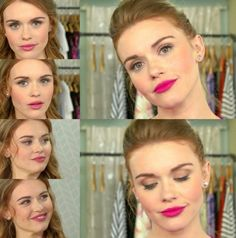 Look at her face! Her lineaments is so perfect. Holland is P E R F E C T I O N ! ! ! #hollandroden