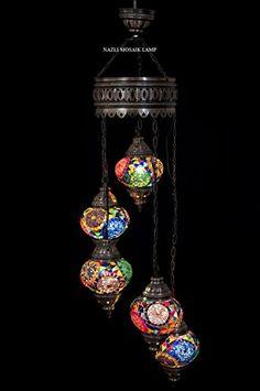 Mosaic Chandelier,Mosaic Lamp,Turkish Lamp,Moroccan Lantern nazli mosaic&crystal http://www.amazon.com/dp/B014YW4CH6/ref=cm_sw_r_pi_dp_.1Eaxb0JP5VFA