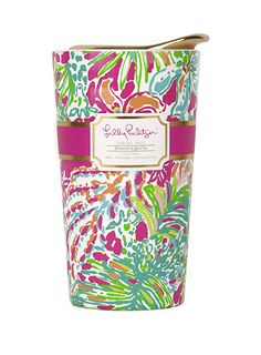 Lilly Pulitzer Travel Mug