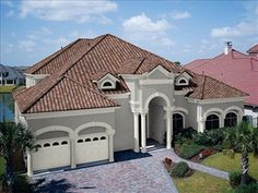 B Clay Roofing With Modern Exterior Colours