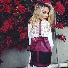 SANCIA || Dalia Bucket Bag > Sahara Ray