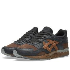 premium selection 90965 7b3cd The Asics Gel Lyte V model has been kitted out in two culinary-inspired  earthen