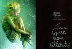 ALEXANDER MCQUEEN: under water editorial