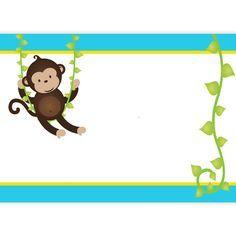 Fondos para invitaciones de baby shower azules - Imagui Baby Shower Azul, Baby Boy Shower, Jungle Theme Classroom, Baby Bug, Safari Decorations, Baby Shower Invitaciones, Baby Invitations, Borders For Paper, Safari Theme