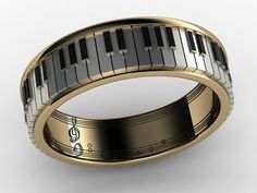 piano musical note ring — Products Gadgets