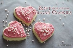 Best soft sugar cookie recipe ever -- use forever!