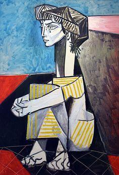 1896 Pablo Picasso (Spanish artist, Portrait of the Artist's Mother. Pablo Picasso, one of the dominant & most influential . Pablo Picasso, Art Picasso, Picasso Paintings, Oil Paintings, Indian Paintings, Abstract Paintings, Landscape Paintings, Picasso Guernica, Paintings Famous
