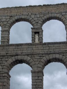 Roman aquaduct, Segovia Spain