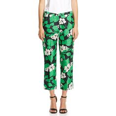 Scanlan Theodore Hibiscus Shangtung Trousers