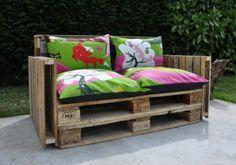 Fauteuil palette exterieur - 50 accessoires éco friendly - Elle