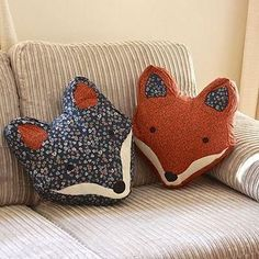 Vintage Inspired Fox Cushion from Not On The High Street. Saved to My Home. #fox #say #household #decor #cute #pillows #fromnorthhighstreet #the.