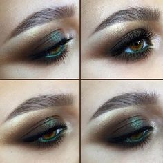 #clareblanc #mineral #inspiration #makeup #awesome #eye #golden #eyeshadow #in #byzantine #about #brown and #just #beautiful #perfect #match ✨