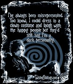 tim burton MOVIE QUOTES