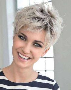 21 Fantastiche Immagini Su Capelli Bianchi Corti Modern Short Hair