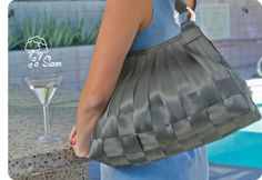 I love these purses and they last a really long time!!! They are made from seatbelts!  They are pricey I think but are worth it because they last so long