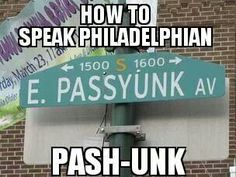South Philly....we try to tell our friends but they don't believe us! #southphilly #Philly #getitright