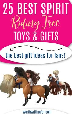 These are the best Spirit Riding Free toys and gift ideas! If your child loves watching Lucky Cool Gifts For Kids, Fun Gifts, Rainy Day Activities, Craft Activities For Kids, Christmas Crafts For Kids, Family Christmas, Good Spirits, Mom Advice, Child Love