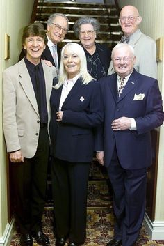 Mike Berry Wendy Richard John Inman Frank Thornton Mollie Sugden Nicholas Smithcast of Are You Being Served? British Tv Comedies, Classic Comedies, British Comedy, British Actors, Old Tv Shows, Movies And Tv Shows, English Comedy, Are You Being Served, Comedy Tv