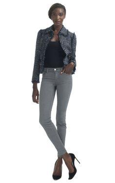 Chanel Midnight Mélange Tweed Jacket by Decades Inc. for Preorder on Moda Operandi
