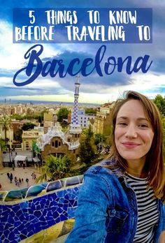 So, you're traveling to Barcelona, Spain? Here are five travel tips for Barcelona I wish someone had told me! Barcelona travel guide and fun things to do in Barcelona, Spain. Ways To Travel, Europe Travel Tips, Places To Travel, Places To Go, European Vacation, European Travel, Vicky Christina Barcelona, Barcelona Spain Travel, Visit Barcelona