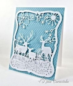 Frostyville Frame and Deer Trio