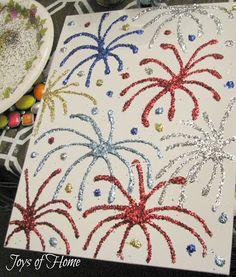 JOYS OF HOME: Summer Craft Night