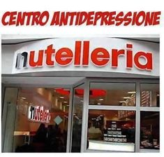 Is this heaven? No, it's Nutelleria! All Nutella, all the time. Nutelleria is located in Bologna, on Via dell'Indipendenza, in case you happen to be in the area.yep I'm gonna go.