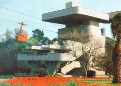 Cable Car Station in Sochi, Russia, 1983 : brutalism
