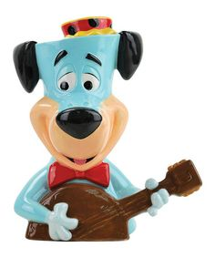 Take a look at this Huckleberry Hound Cookie Jar by Westland Giftware on #zulily today!