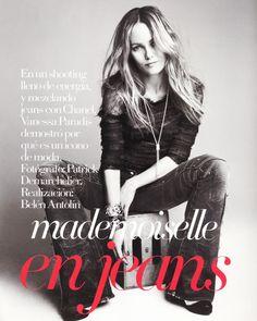 { mademoiselle } en jeans | The Glamourai